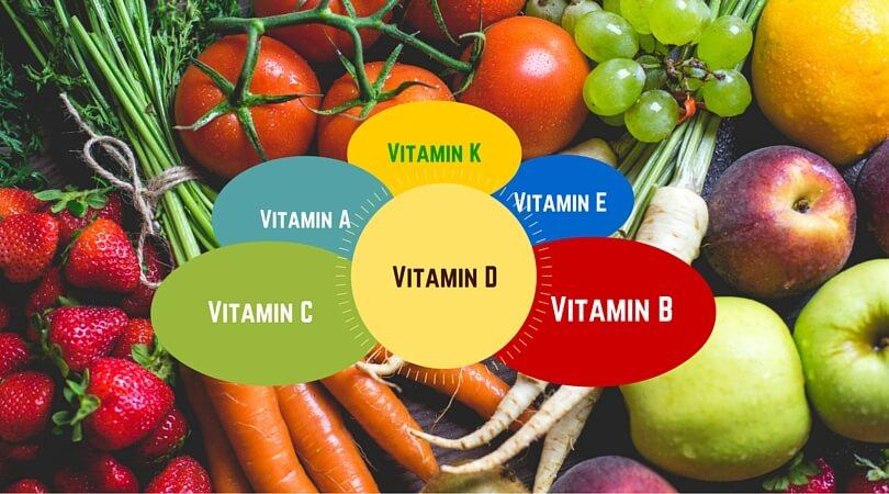 Vitamine - Schlagwort Nummer 1 in Sachen gesunde Ernährung