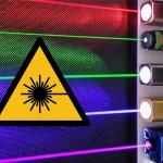 Laser - Farbenfrohe Technik