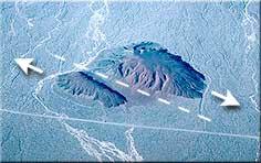 Luftaufnahme des Split Cinder Cone