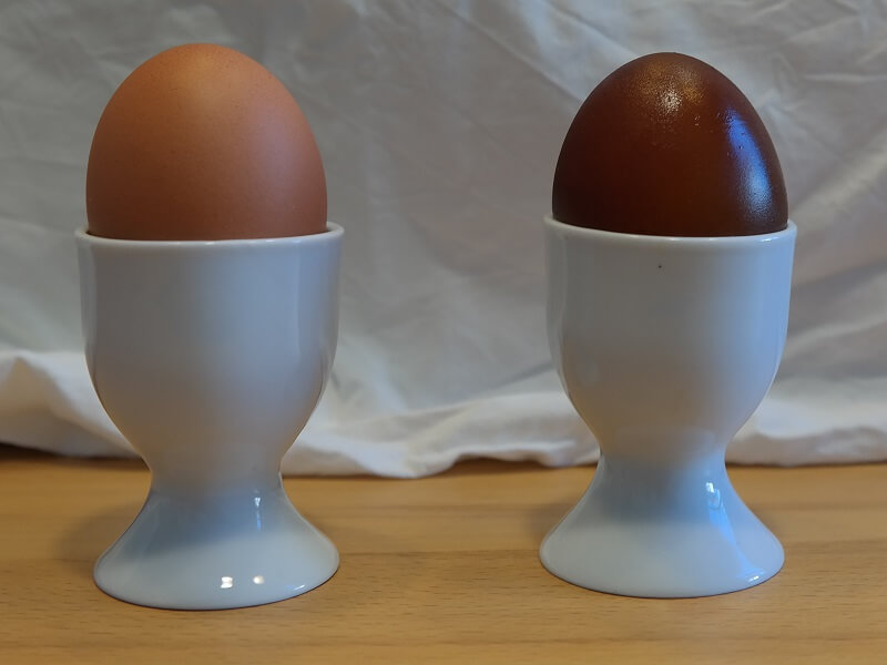 Experiment 2: Das Ei ist geschrumpft!