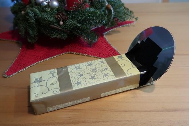 Das Spektroskop in weihnachtlichem Kleid