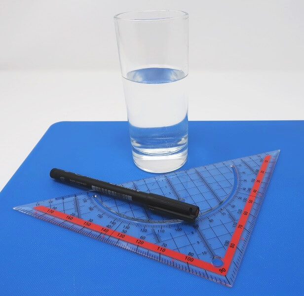 Material für das Experiment