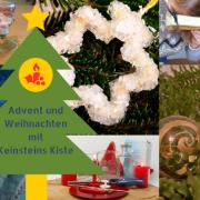 Weihnachten mit Keinsteins Kiste: Experimente und mehr im Advent