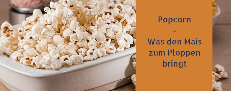 Popcorn : Was den Mais zum Ploppen bringt