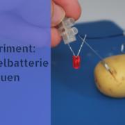 Experiment: Kartoffelbatterie bauen